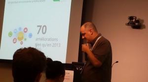 conférences : Julien Coquet top contributeur Google lors du adwords community summit 2014
