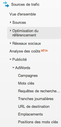 Google Analytics v6 Adwords