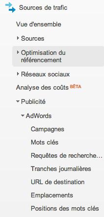 Google Analytics v6 Adwords