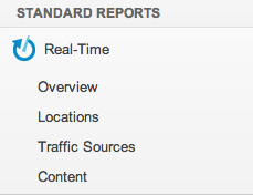 Google Analytics v6 standard reports EN