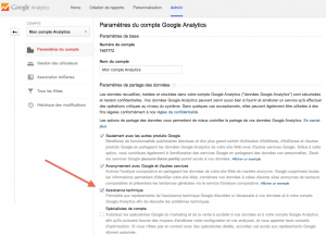 google analytics recuperer son compte assistance technique julien coquet