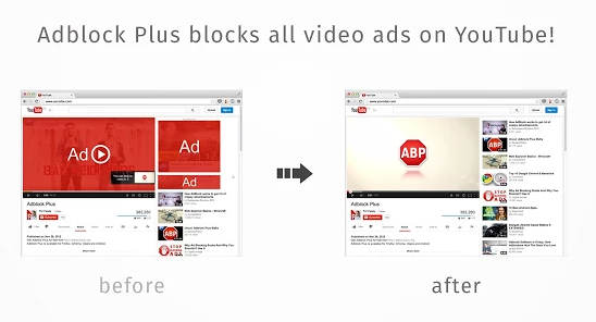 Adblocking - blocking ads on youtube