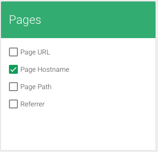 Google Analytics Property ID in Google Tag Manager - page hostname