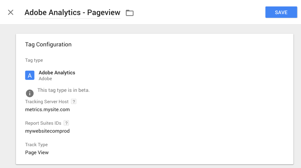 google tag manager adobe analytics