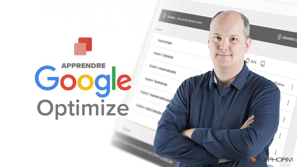 Formation Google Optimize par Julien Coquet