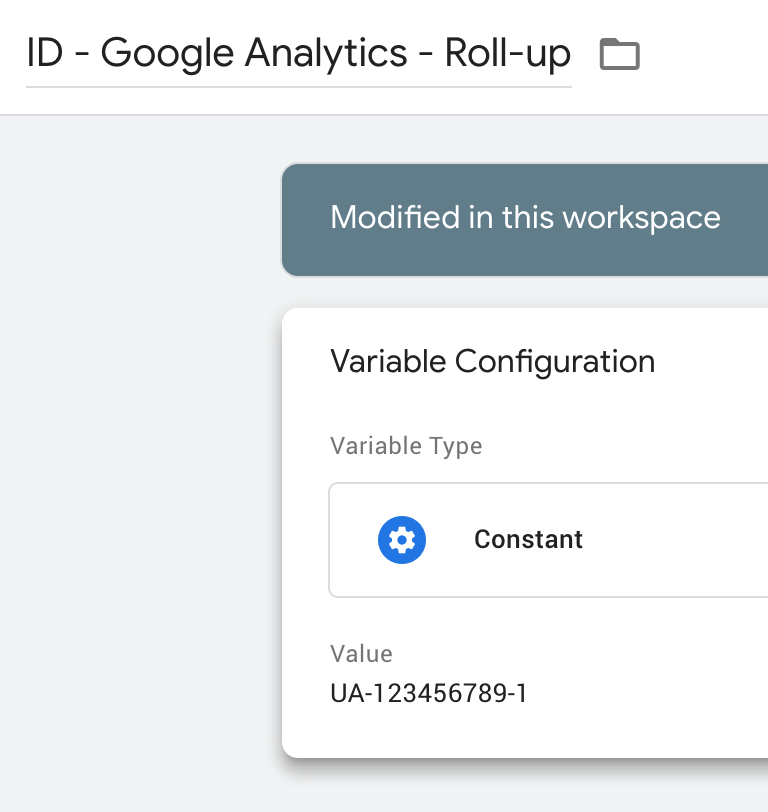 Consolidate traffic data in Google Analytics by sending data to a roll-up property