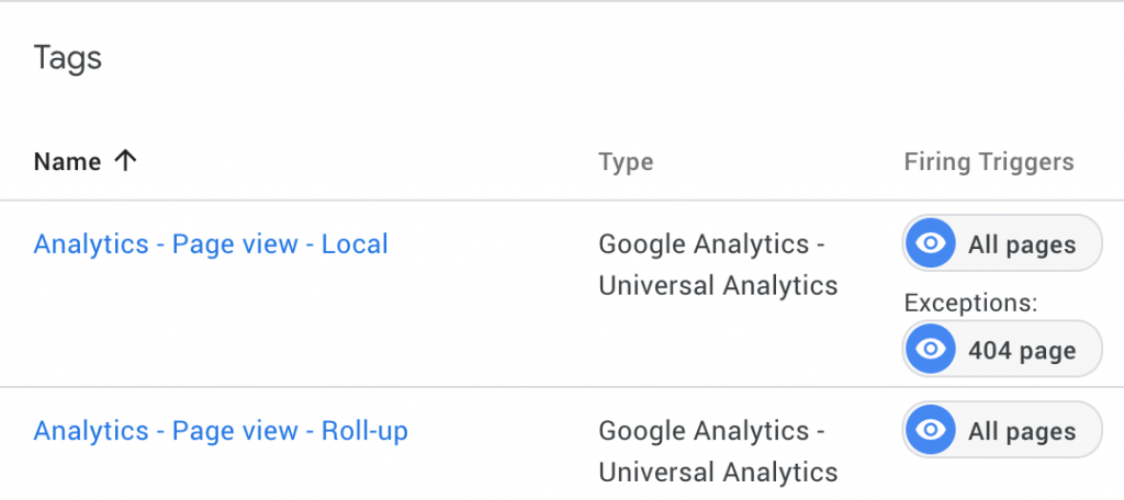 Consolidate traffic data in Google Analytics by sending two page view calls
