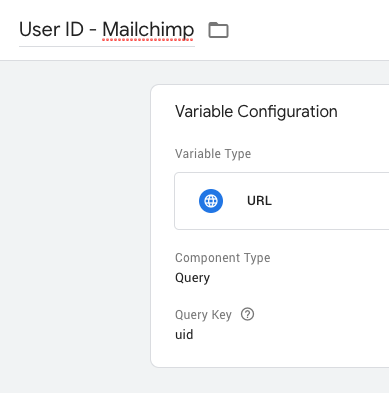 Integrate Google Analytics tracking with Mailchimp - by